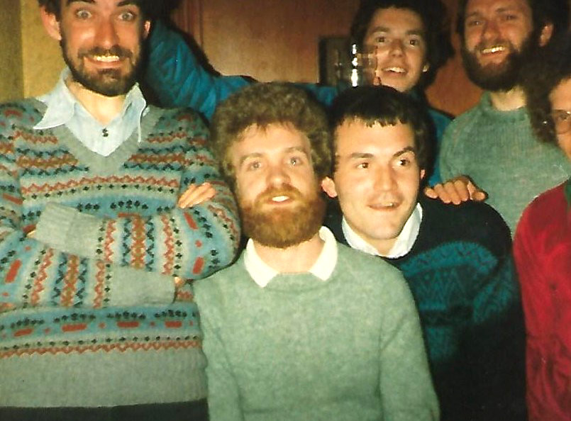 Great jumpers! Great beards!